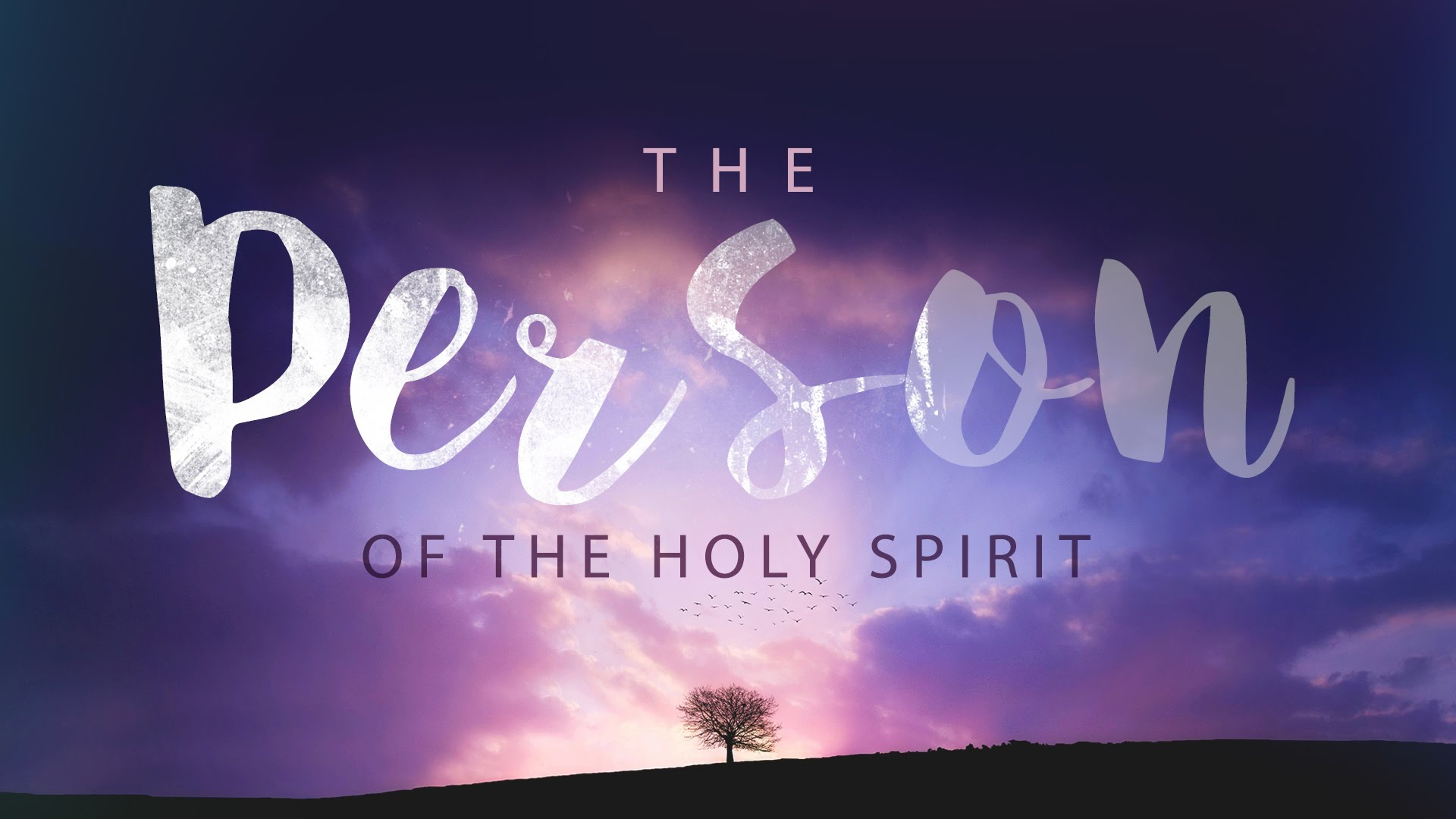 person of the holy spirit